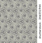 abstract geometric pattern by... | Shutterstock . vector #346551944
