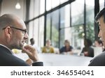 business people meeting... | Shutterstock . vector #346554041