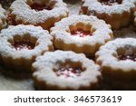 Closeup Of Traditional Linzer...