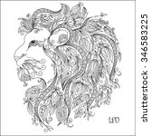 Pattern For Coloring Book. Han...