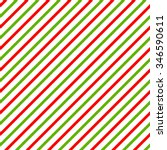 Christmas Background With Gree...