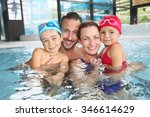 portrait of family having fun... | Shutterstock . vector #346614629