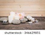 massage stones | Shutterstock . vector #346629851