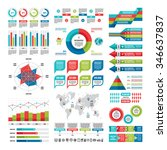 business infographic concept  ... | Shutterstock .eps vector #346637837