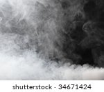 Thick Stream Of Fog