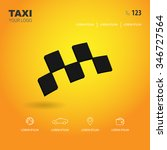 taxi. template  mock up for web ...