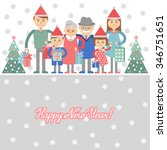 vector illustration of  big... | Shutterstock .eps vector #346751651