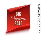 big christmas sale poster ...   Shutterstock .eps vector #346754294
