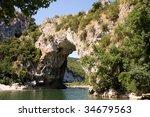 Vallon Pont D'arc  A Natural...