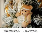 two christmas angel dolls new... | Shutterstock . vector #346799681