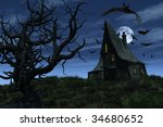 A Witch's House Sits On A Hill...