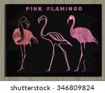vector illustration of pink...   Shutterstock .eps vector #346809824