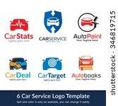 car business logo template... | Shutterstock .eps vector #346819715