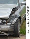 damaged car   Shutterstock . vector #3468509