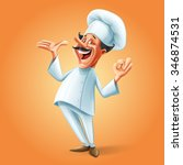 chef banner | Shutterstock .eps vector #346874531