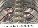 human anatomy  unique view of... | Shutterstock . vector #346880855