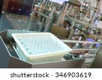 conveyor for the production of... | Shutterstock . vector #346903619
