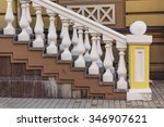 Railing Stairs In An Old...