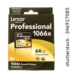 Small photo of Winneconne, WI - 3 Dec 2015: Lexar CompactFlash professional series made my Micron.