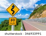 speed limit signs of 30 km  ... | Shutterstock . vector #346933991