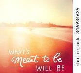 inspirational typographic quote ... | Shutterstock . vector #346934639