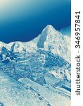 huayna picchu mountain... | Shutterstock . vector #346957841