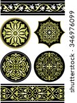 italian ornamental pattern