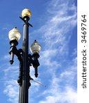 vintage street lamp... | Shutterstock . vector #3469764