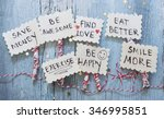 new year's resolutions | Shutterstock . vector #346995851