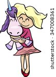 cartoon vector illustration of... | Shutterstock .eps vector #347008361