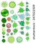 treetop symbols | Shutterstock .eps vector #347022509