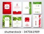 set of brochure  poster... | Shutterstock .eps vector #347061989