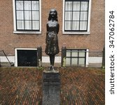 Anne Frank's Memorial In...