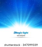 abstract magic  light... | Shutterstock .eps vector #347099339