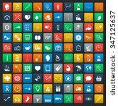 medicine icons set.  | Shutterstock . vector #347125637