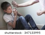 Small photo of Father Being Physically Abusive Towards Son
