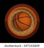 basketball | Shutterstock .eps vector #347141849
