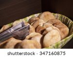 basket filled with local...   Shutterstock . vector #347160875