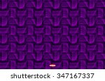 Abstract Dark Violet Pattern...