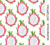 tropical seamless pattern with... | Shutterstock .eps vector #347189561