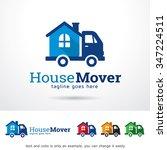 house mover logo template... | Shutterstock .eps vector #347224511