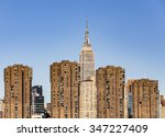 new york   march 15  the empire ... | Shutterstock . vector #347227409