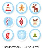 set of design elements... | Shutterstock .eps vector #347231291
