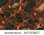 colorful psychedelic background ... | Shutterstock . vector #347253827