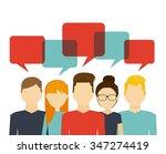 people working design  vector... | Shutterstock .eps vector #347274419