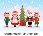 stock cartoon illustration... | Shutterstock . vector #347284181