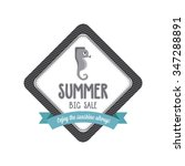 abstract summer label on a...   Shutterstock .eps vector #347288891