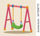 playground swing theme elements | Shutterstock .eps vector #347308775