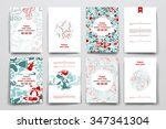 set of brochure  poster... | Shutterstock .eps vector #347341304