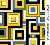 seamless vector geometric...   Shutterstock .eps vector #347342525